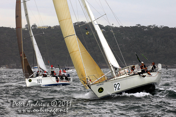 Jeffrey Taylor's C&C 41 Nemesis (USA) and Victorian Andrew Griffiths' Sydney ...