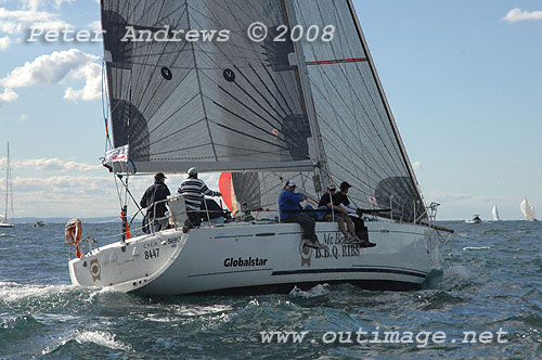 David Beak's Beneteau First 44.7 Mr Beaks Ribs outside the heads after the ...